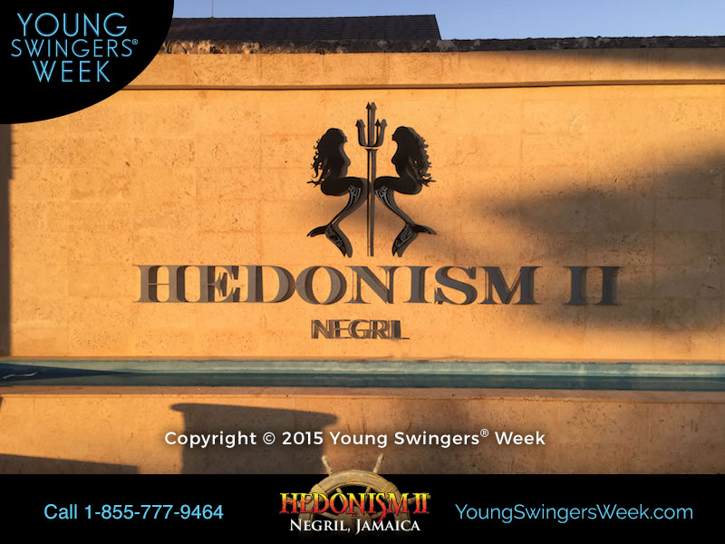 Hedonism II Sign