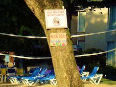 Nude Beach Sign