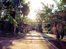 Walkway at the Resort